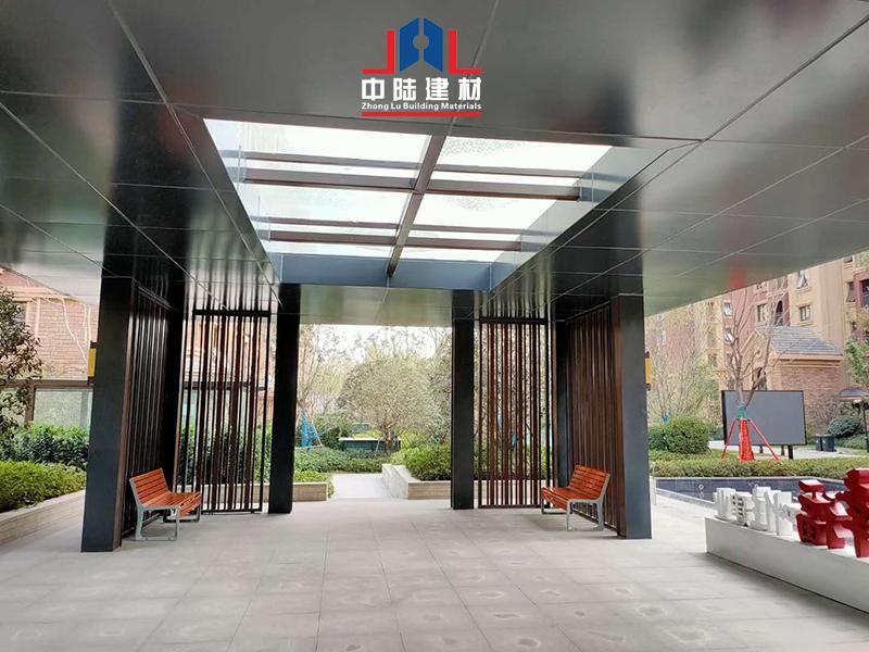 连廊铝单板