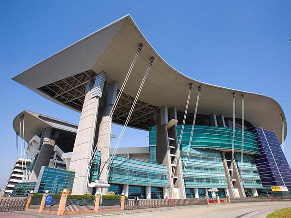 广州奥林匹克中心铝单板安装工程