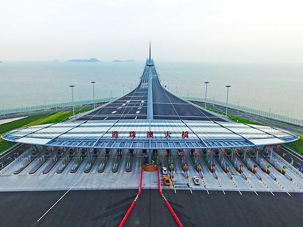 港珠澳大桥铝单板定制批发案例