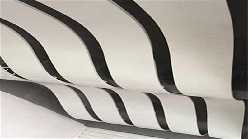 厂家定制弧形波浪铝单板
