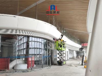 飞机场铝单板包墙案例展示