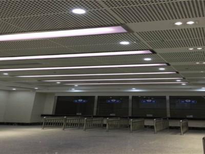 浙江丽水汽车站铝单板案例