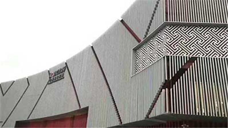 厂家直销氟碳漆铝单板幕墙门