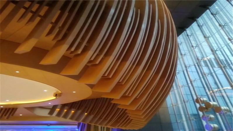木纹造型铝方通