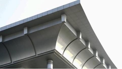 铝单板屋檐 屋檐铝板