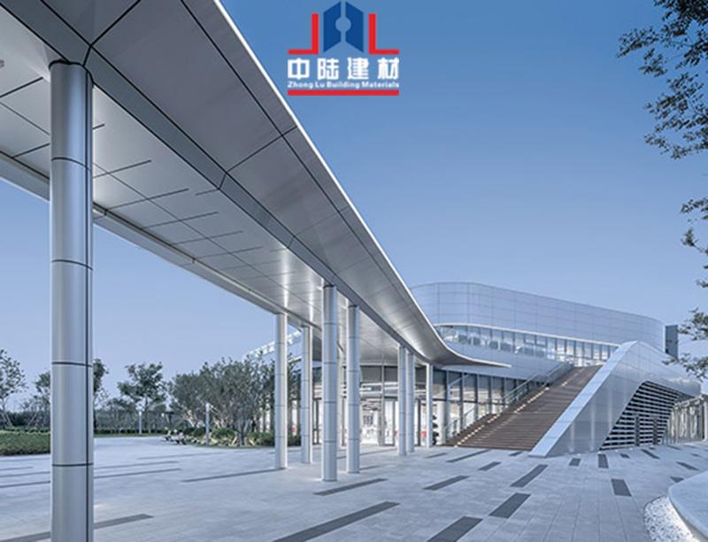 包柱连廊铝单板