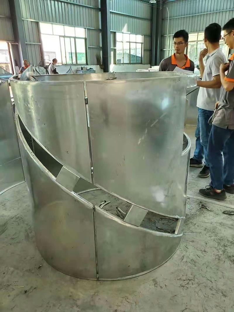 圆形包柱铝单板