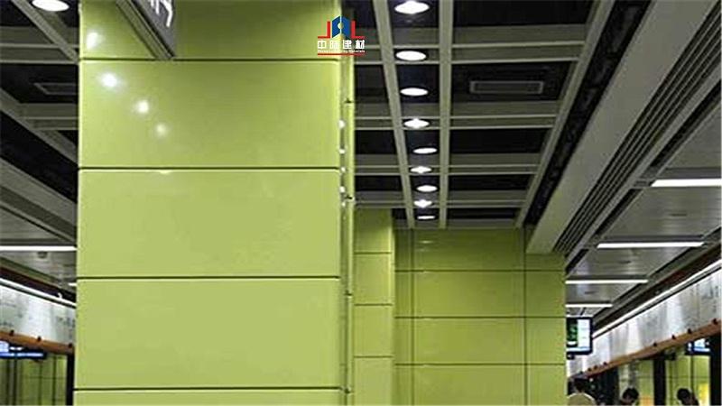 铝单板包柱子铝板幕墙