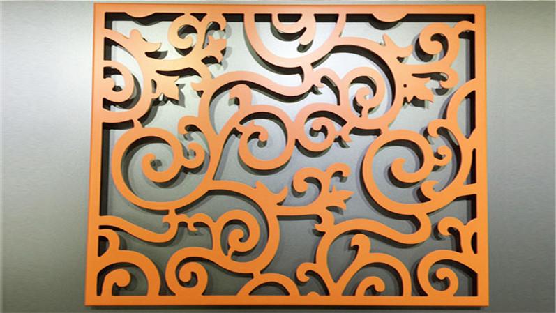 氟碳冲孔雕花铝单板