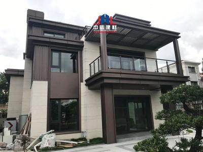 别墅屋檐铝单板