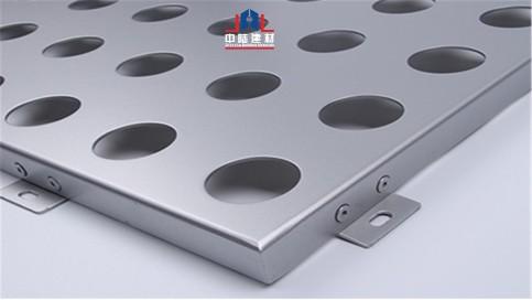 穿孔铝板孔径大小?