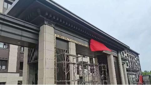广东佛山屋檐铝单板