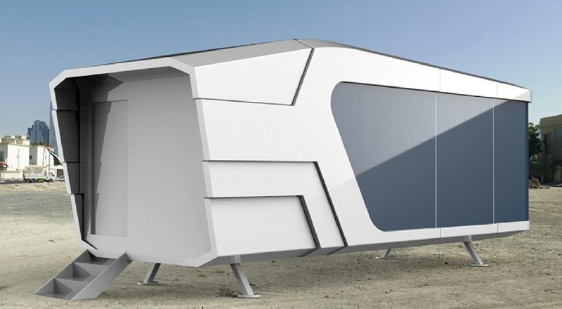 双曲铝单板特色小屋