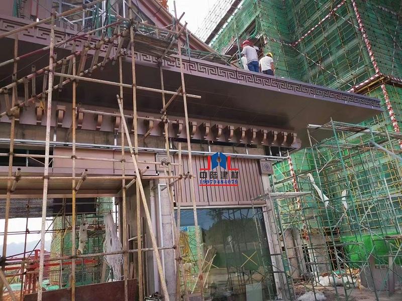 屋檐铝单板