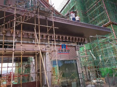 屋檐铝单板专业生产厂家