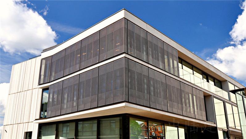 外墙冲孔透光铝板