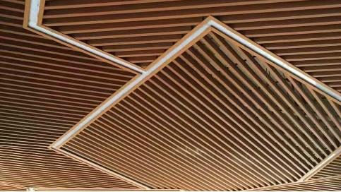 铝方通吊顶的安装方式