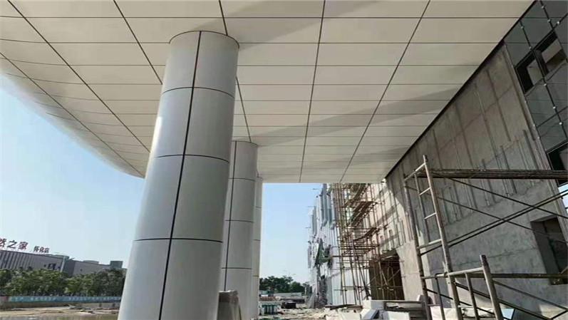 雨棚铝单板