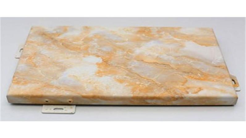 仿雪花白大理石铝单板